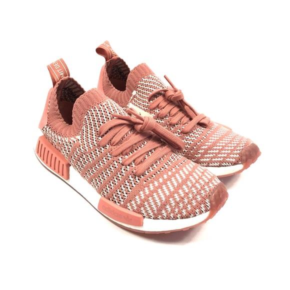 Le Adidas Nmd Sz R1 Primeknit Pinkwhite Donne Sz Nmd 65 Poshmark 090577